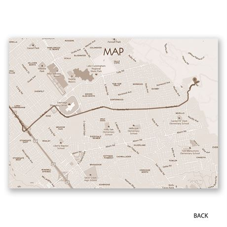 Happy Together - Map Card