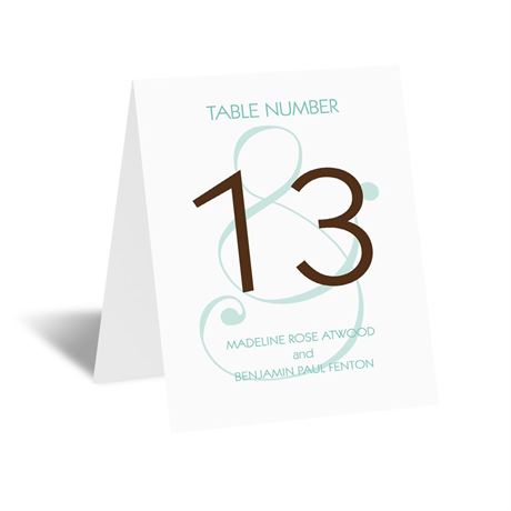 Happy Together Table Card