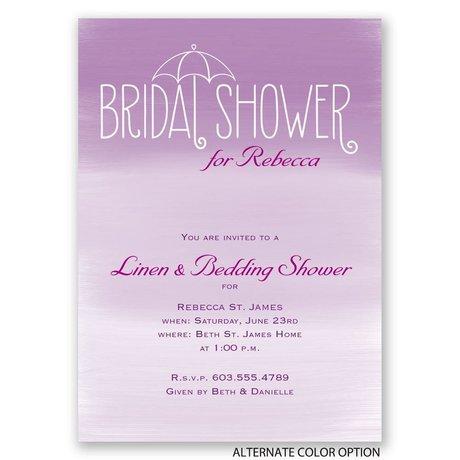 Blue Skies - Bridal Shower Invitation