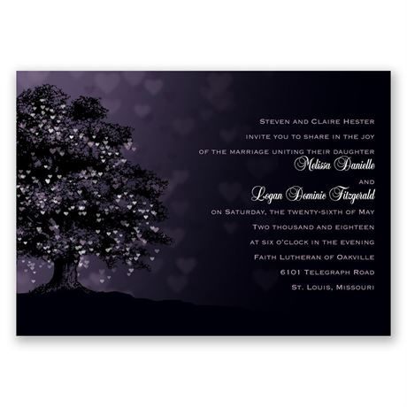 Shades of Love Invitation