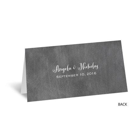 Chalkboard Autumn - Place Card