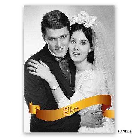 Golden Vows - Anniversary Invitation