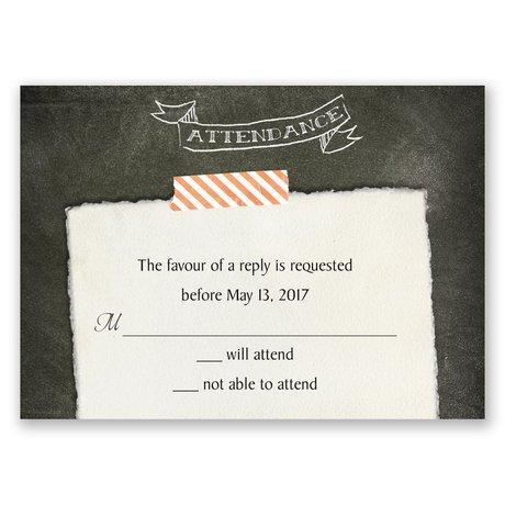 Favorite Photo Response Card
