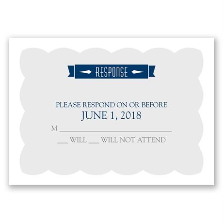 No Regrets Response Card
