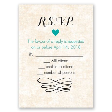 Happy Heart Response Card