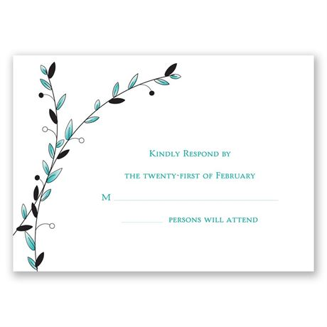 Love of a Lifetime Response Card