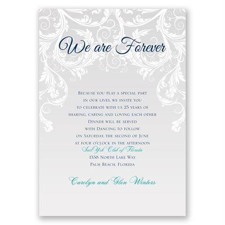 Gargantuan image within free printable vow renewal invitations