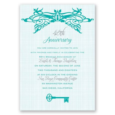 Free to Love - Anniversary Invitation