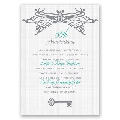 Free to Love Anniversary Invitation