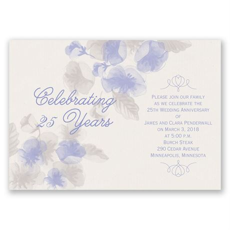 True Romance Anniversary Invitation