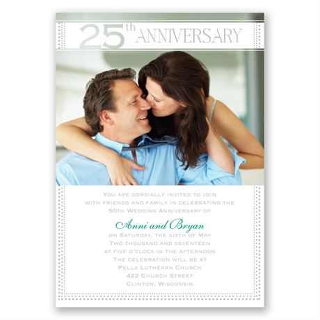 Grand Presentation - 25th Anniversary Invitation