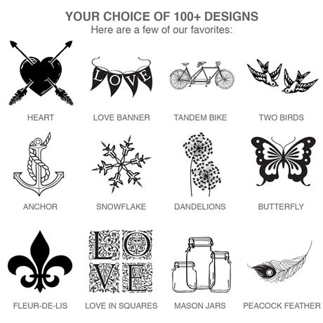 Choose Your Design - Rustic - Seal and Send Invitation