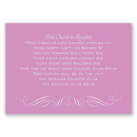 Elegant Filigree - Map Card