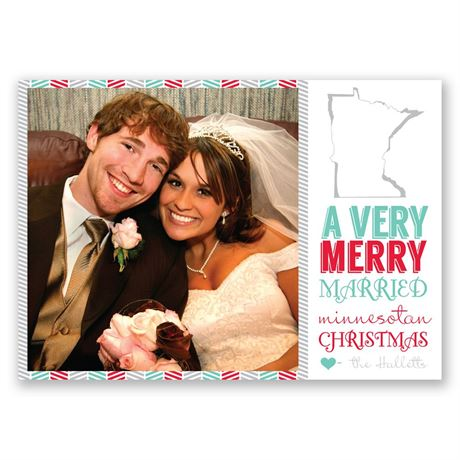 A State of Merriment Photo Holiday Card