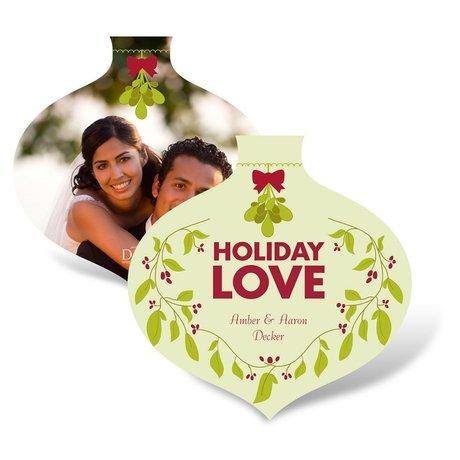Holiday Love Photo Holiday Card
