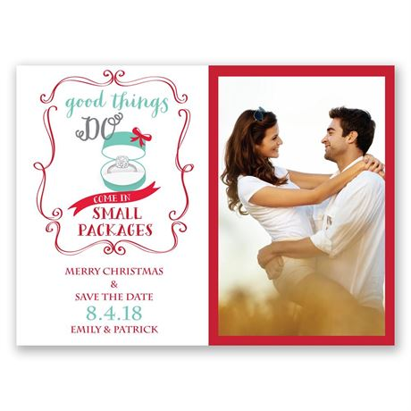 Good Things Holiday Card Save the Date