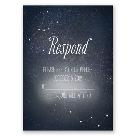 Star Gazer Response Card