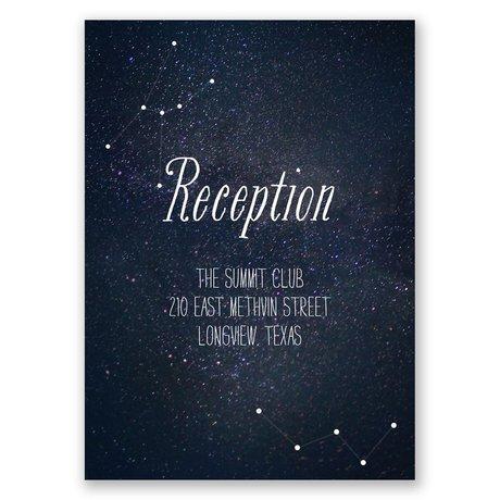 Star Gazer Reception Card