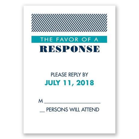 Modern Typography Response Card