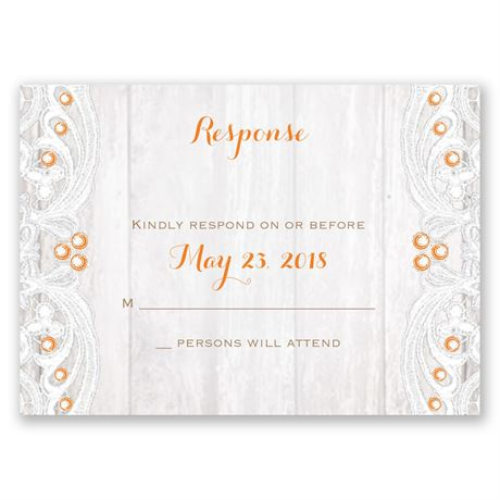 Country Affair Response Card