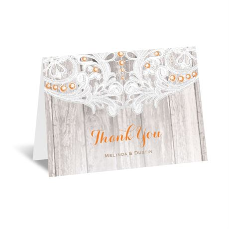 Country Affair Thank You Card