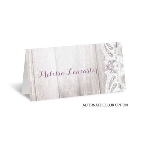 Country Affair - Place Card