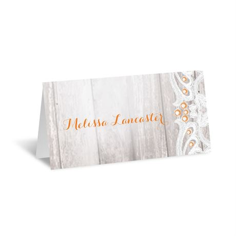 Country Affair Place Card