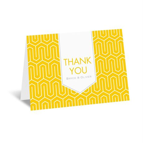 Modern Dream Thank You Card