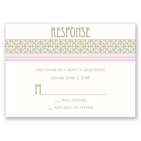 Sweet Romance Response Card