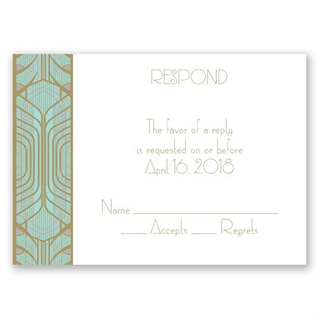 Grand Presentation Response Card