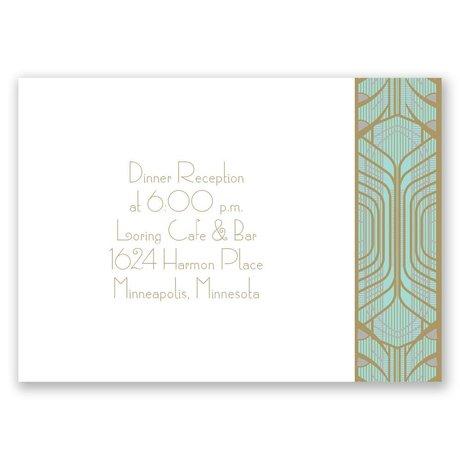 Grand Presentation Reception Card