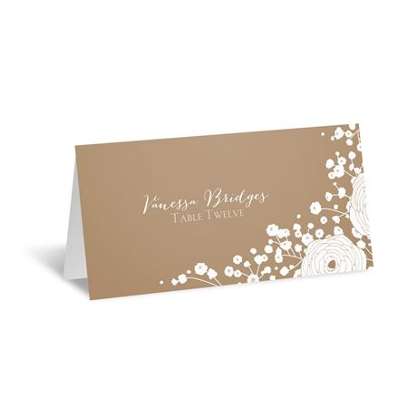 Sweet Dreams Escort Card