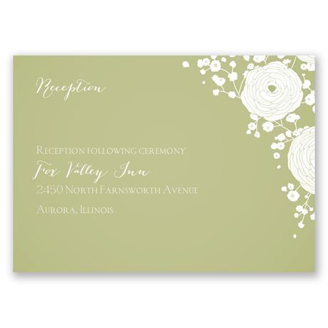 Sweet Dreams Reception Card