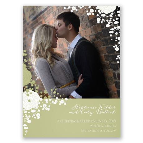 Sweet Dreams Save the Date Card