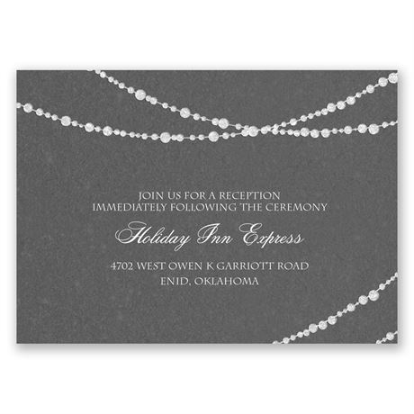 Mood Lighting Reception Card