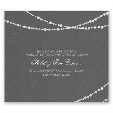 Mood Lighting Pocket Reception Card