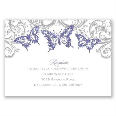 Love Takes Flight Reception Card