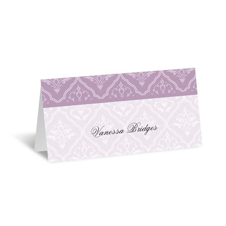 Classic Romance Place Card