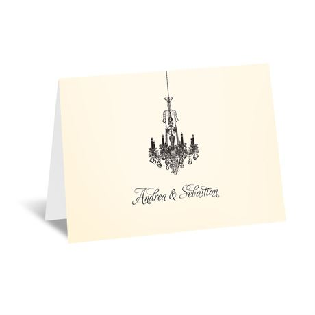 Ballroom Beauty Thank You Card