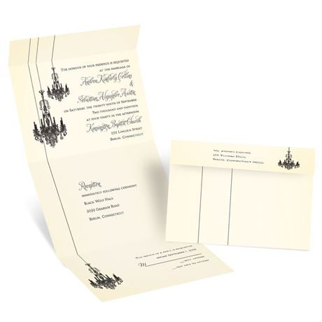 Ballroom Beauty Seal and Send Invitation