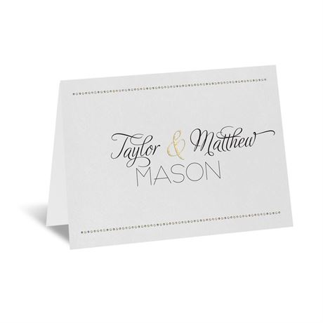 Infinite Glam Thank You Card
