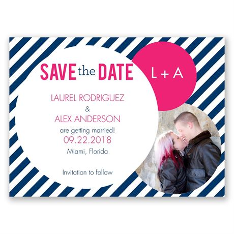 Crazy Love Save the Date Card