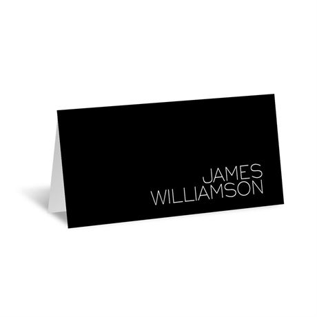 Modern Marvel Place Card