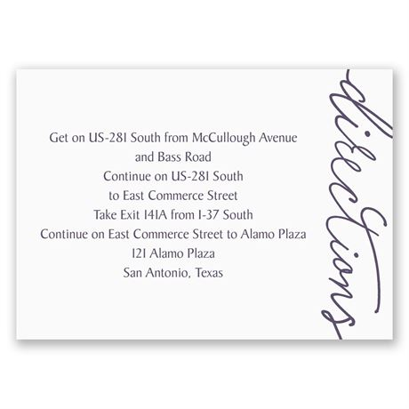 Pure Sophistication - Map Card