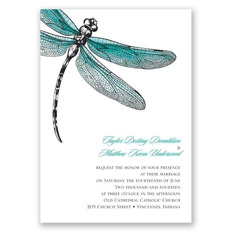 Dragonfly Dream Invitation