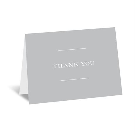 Simply Refined Thank You Card