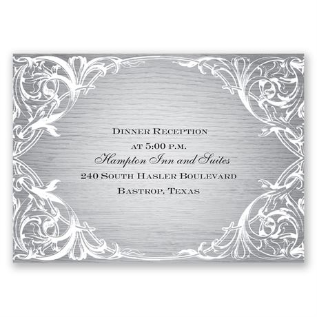 Country Beauty Reception Card