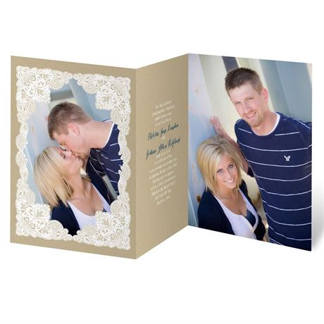 Lace Frame Invitation