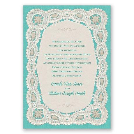 Darling Lace Invitation
