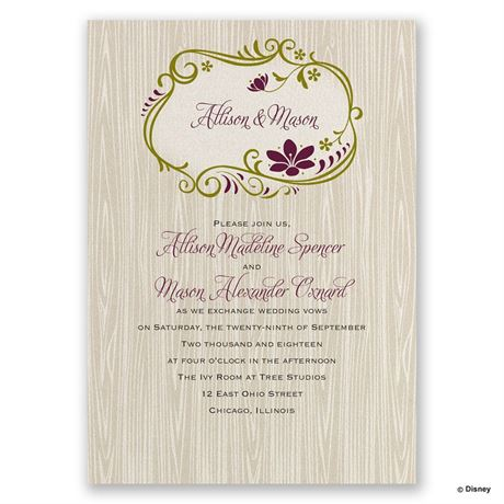 disney wedding invitation wording sles 28 images disney